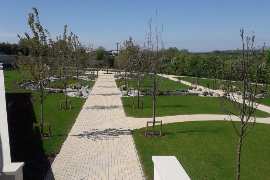 Worle Crematorium Landscaping