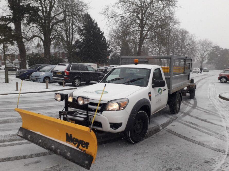 Snow Clearance Car Park