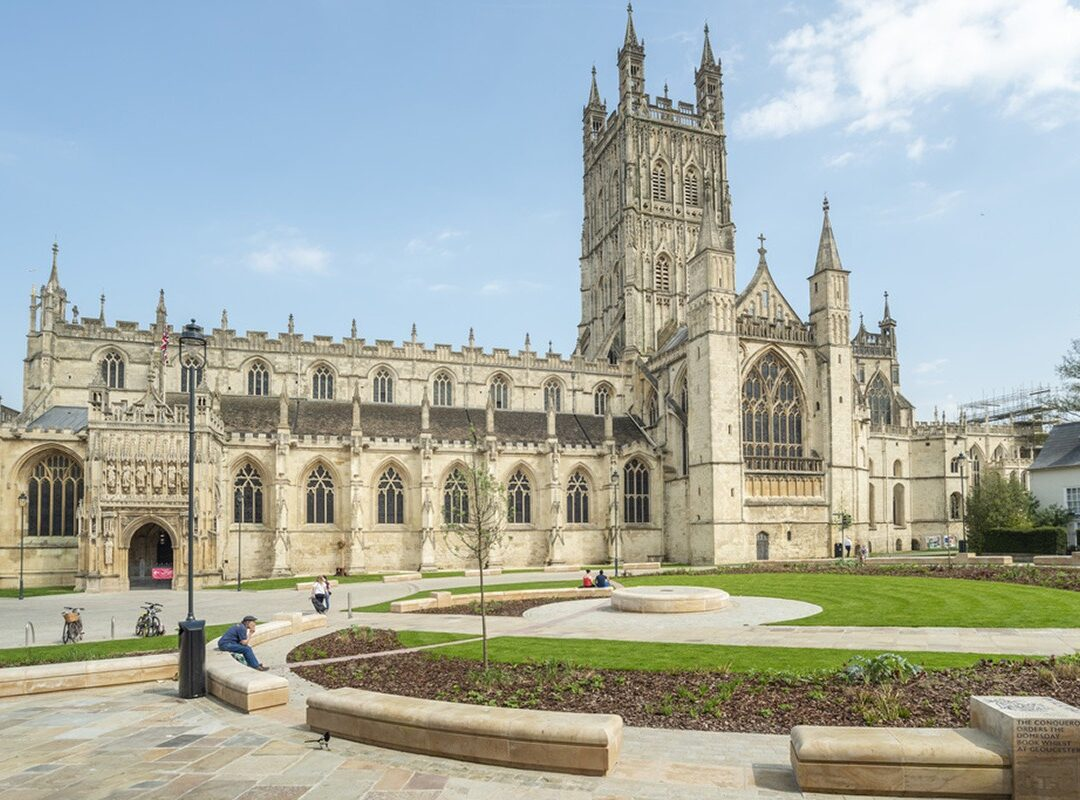 Landscaping at Gloucester-Cathedral