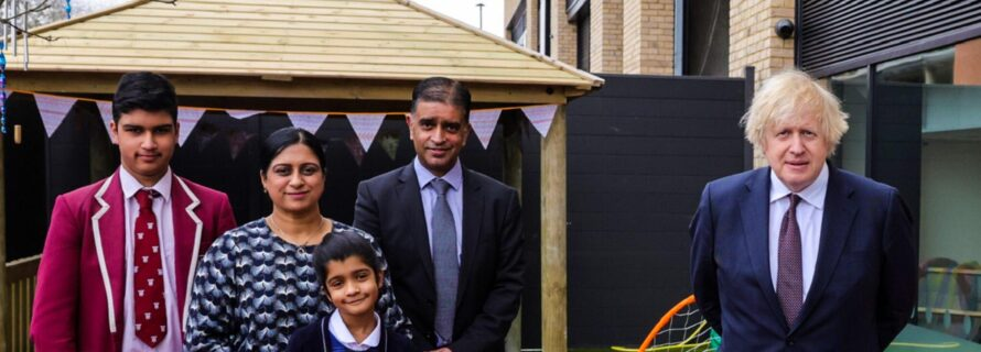 PM visiting nursery Playforce