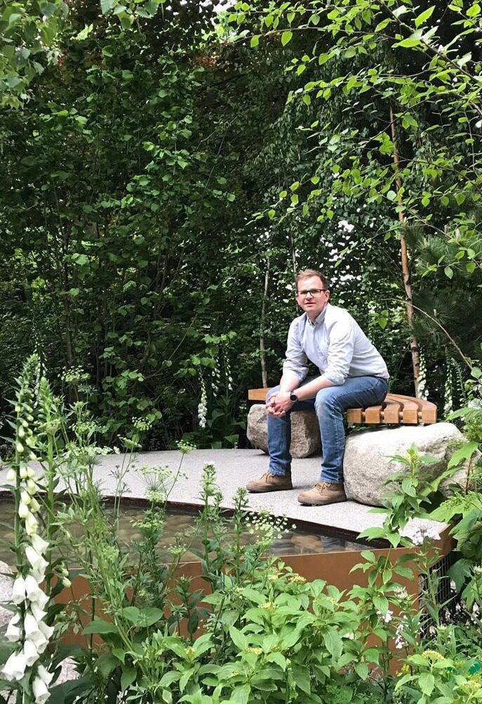 Alistair in Family Monsters Garden